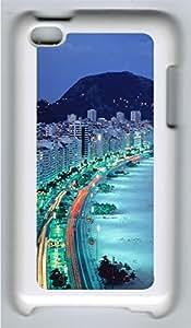 ipod 4 CaseBrazilian Beach By The Night PC Custom ipod 4 Case Cover White