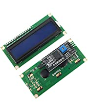 IIC/I2C/TWI LCD 1602 16x2 Serial Interface Adapter Module Blue Backlight for Arduino UNO R3 MEGA2560