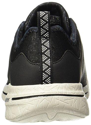 BKW Mujer 12659 Zapatillas Negro Skechers HBwxfq5