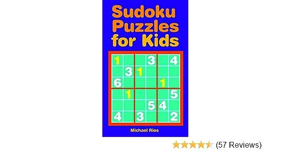 Sudoku Puzzles For Kids Michael Rios 9781402736025 Amazon