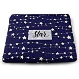 Woodrow Nora Meditation Cushion with Memory Foam -Pads for Wheelchair Office Chair Home Decoration high quslityHand Drawn Stars Seat 15