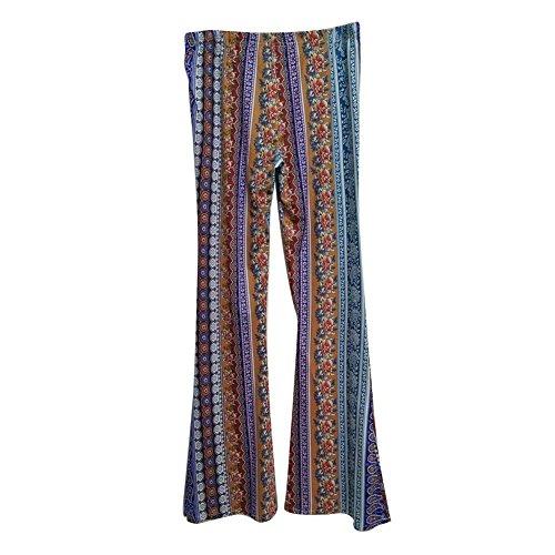 Donna Vintage Pantaloni Larghi 6 Leggero Elegante Pantaloni Pantaloni Pantaloni Colour Palazzo Estivi Modello Lunga Ericcay Colpo Accogliente Pantalone Fiore 5wxaIq4zUn