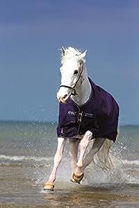 Horseware Amigo Pony 600D Lite - Manta impermeable para caballos (de 10,1 a 15,2cm), color azul