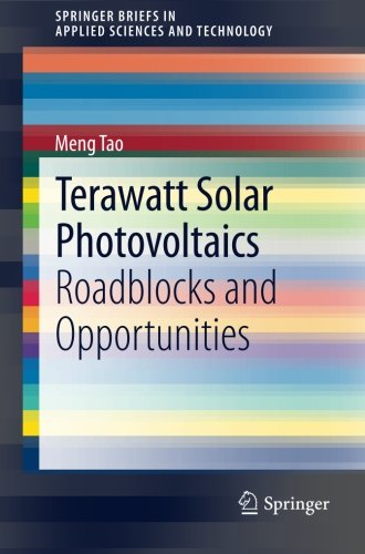 Terawatt Solar Photovoltaics: Roadblocks and Opportunities (SpringerBriefs in Applied Sciences and Technology)