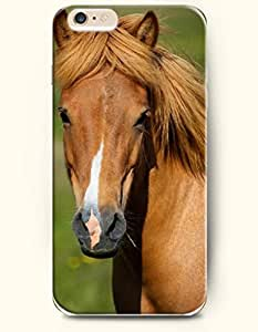 OOFIT Apple iPhone 6 Case 4.7 Inches - Brown Horse by supermalls