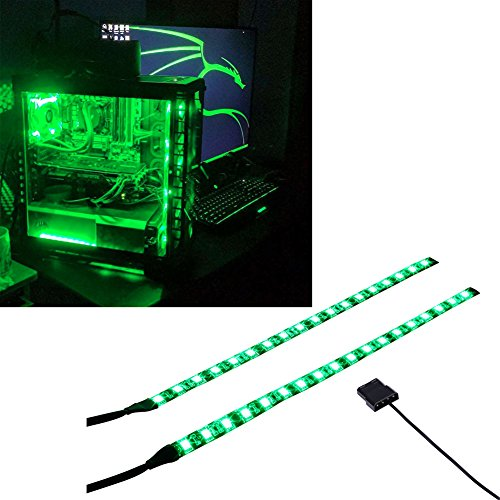Green Led Computer Lights