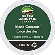 Green Mountain Island Coconut Single Serve Keurig Certified Recyclable K-Cup pods for Keurig brewers, 24 Count