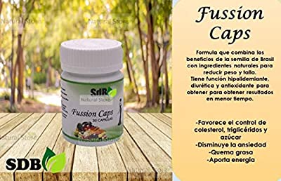 "Semilla de Brazil""Fussion Caps"" Excellent Weight Loss Supplement!"