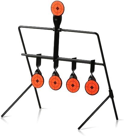 Metal Shooting Automatic Reset Rotating Indoor Outdoor  Firing Set Useful P7Y3
