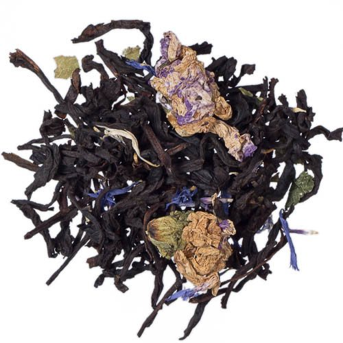 Blackberry Loose Leaf Flavored Tea Fair Trade Certified Fresh Blackberry - 1 Pound