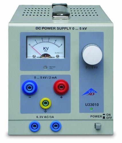 3B Scientific U33010-230 High Voltage AC/DC Power Supply, 230V ()