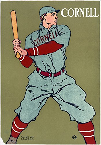 (Posterazzi Nposter for The Cornell University Baseball Team. Chromolithograph by Edward Penfield C1908. by Poster Print by by, (18 x 24) )