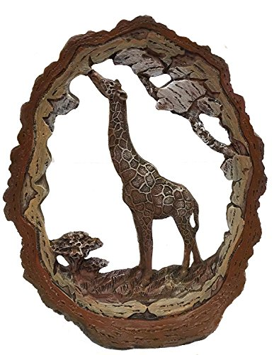 Giraffe Frame (GIRAFFE STATUE DECORATION WILDLIFE COLLECTIBLE SAFARI FRAME 7