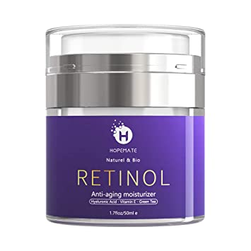 f77b869b6dab Amazon.com: HOPEMATE Retinol Cream, Anti-Aging Moisturizer Cream 2.5 ...
