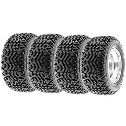 SunF All Trail ATV Tires 23x10.5-12 & 23x10.5x12 4 PR G003 (Full set of 4) by SunF