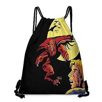 Amazon.com | Yoga backpack Cartoon Comics Super Heros ...