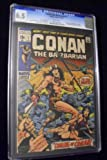 Conan The Barbarian #1 CGC White Pages Origin & 1st Appearance Of Conan & King Kull Barry Windsor Smith Cover & Art