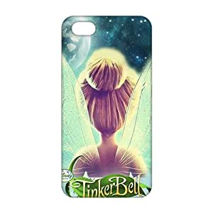 3D Case Cover Cartoon Lovely Tinker Bell Phone Case for iPhone 5s