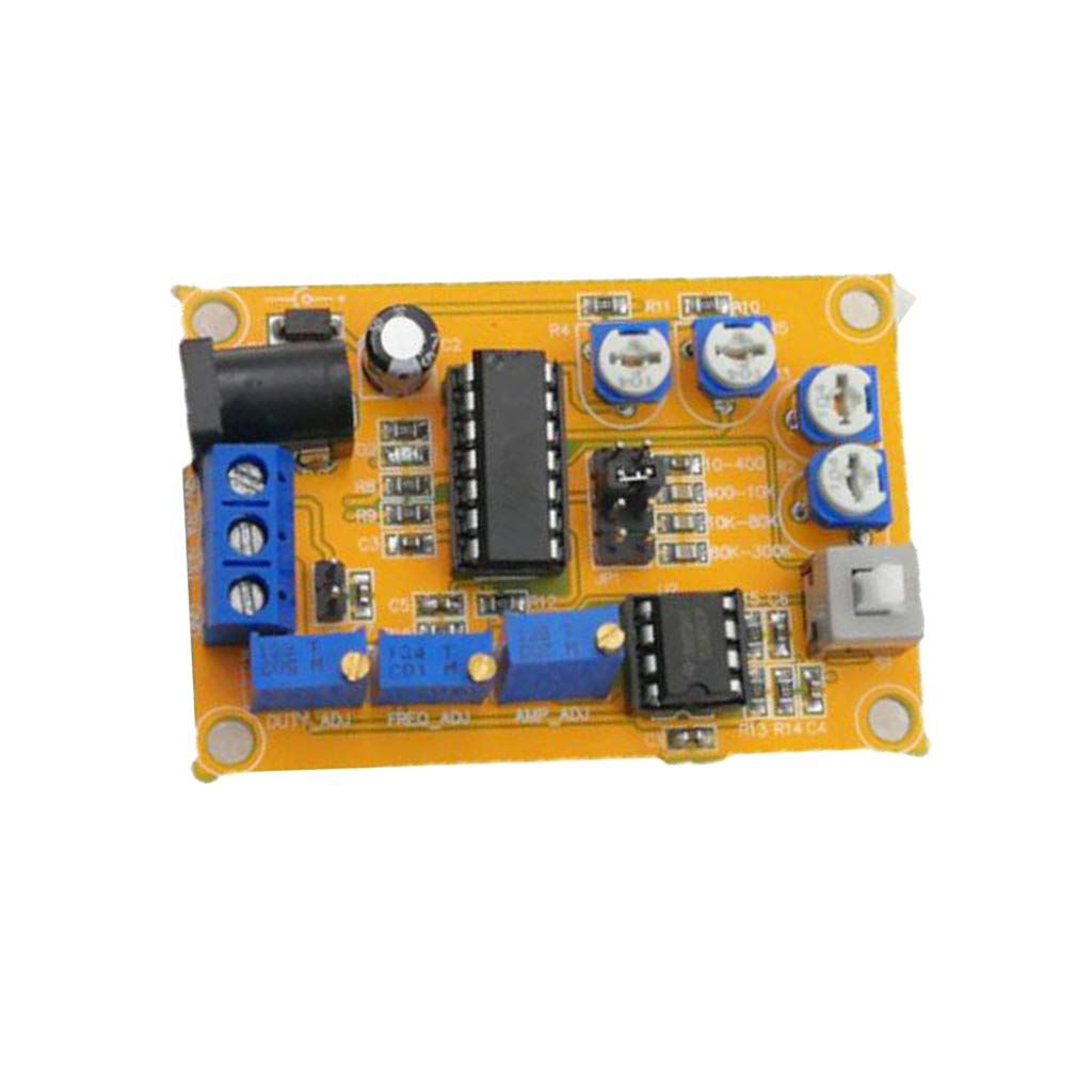 Milageto Icl8038 Module Square Wave Signal Generator Operating Cycle
