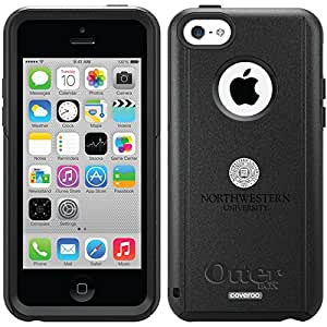 Coveroo Northwestern Seal Design Phone Case for iPhone 5c - Retail Packaging - Black