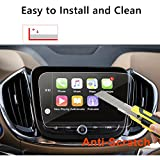 [Upgrade] 2018 Chevrolet Equinox 8 inch Car Navigation Screen Protector Glass,Tempered Glass Infotainment Display in-Dash Media Center Touch Screen Protector Scratch-Resistant