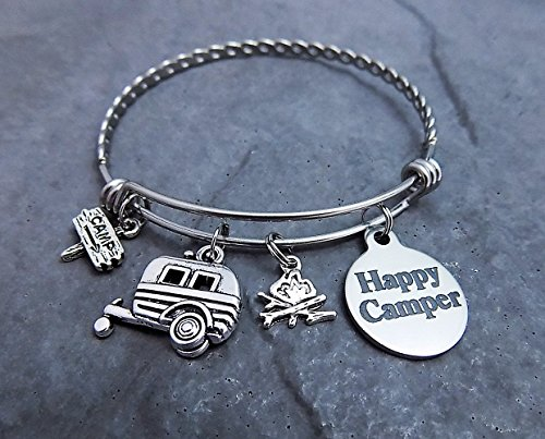 happy-camper-charm-bracelet-expandable-bangle-twisted-stainless-steel