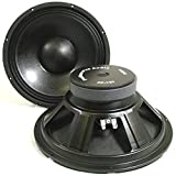 Podium Pro PP121 12-Inch Pair Subwoofers Pro Audio DJ PA Karaoke Band Replacement