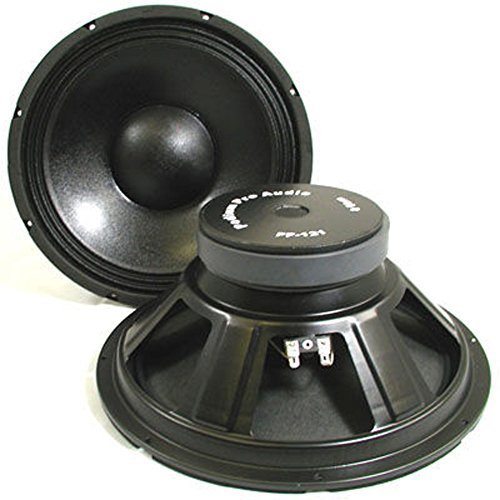 Podium Pro PP121 12-Inch Pair Subwoofers Pro Audio DJ PA Karaoke Band Replacement by Podium Pro