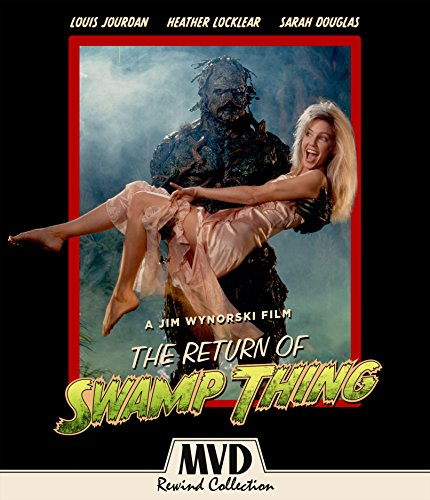 The Return Of Swamp Thing  2 Disc Special Edition   Blu Ray   Dvd