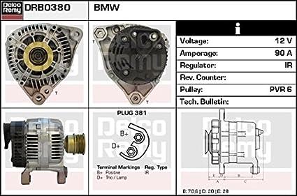 Alternador Para BMW 0986040380 OEM Calidad