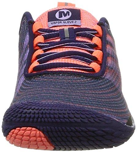 Merrell Damen Vapor Glove 2 Traillaufschuhe Mehrfarbig (Crown Blue)