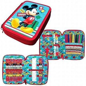 Mickey Mouse WD11422 Estuches: Amazon.es: Equipaje
