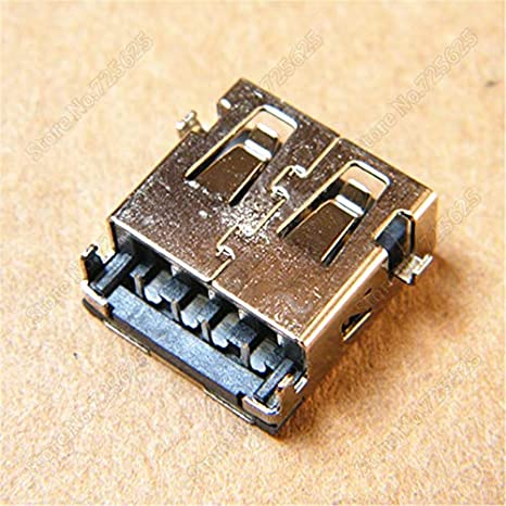 Cables 2.0 USB Jack Socket Female Port for Asus S300 S300C S400E S400CA S500 Data Jack Connector Cable Length: 1PCS