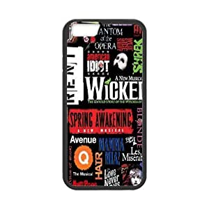 diy case Phone case - Musical Wicked Pattern Protective Case For Apple iphone 6 plusd 5.5,