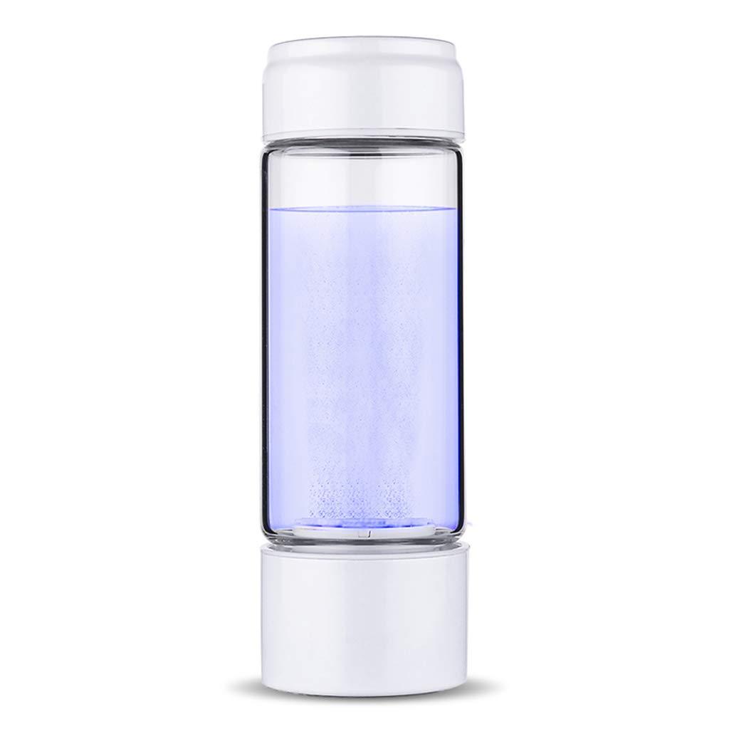 【日本製】 電解水素水マグ、ポータブルホーム負イオン品質 B07GCP54P1 USB 健康スマート充電ガラスギフトやかんアルカリ酸素発生器360ml (6 容易にカップ (6* 21.5 センチメートル),White USB White B07GCP54P1, TCC ONLINE SHOP:79827d97 --- a0267596.xsph.ru