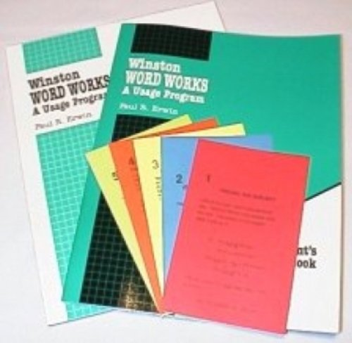 Winston Grammar Word Works Complete Set: Paul E Erwin ...