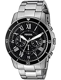 Fossil Mens FS5236 Grant Sport Chronograph Stainless Steel Watch