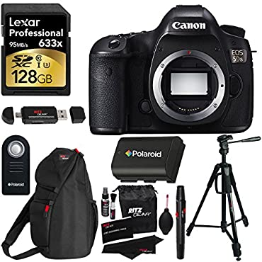 Canon EOS 5DS Digital SLR Camera Black (Body Only)
