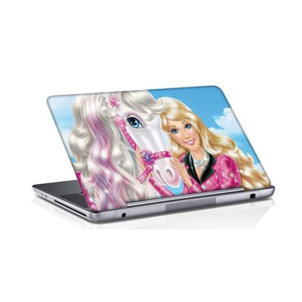 Aurra Cartton Doll Laptop Skin