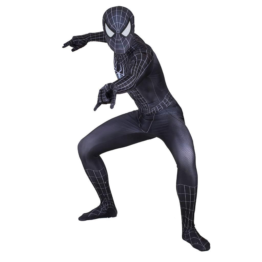 NDHSH Venom clásico Spiderman Negro Cosplay Disfraces ...