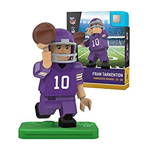 Fran Tarkenton Legends NFL OYO Minnesota Vikings Generation 4 G4 Mini Figure