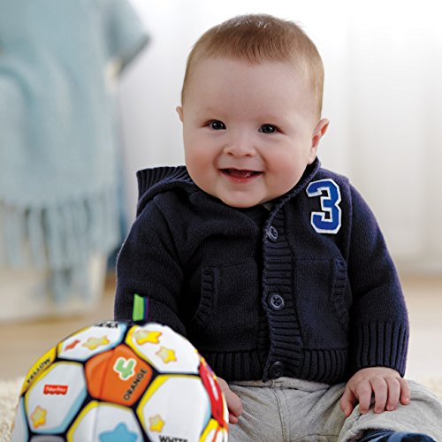 51y0I5IfoVL - Fisher-Price Laugh & Learn Singin Soccer Ball