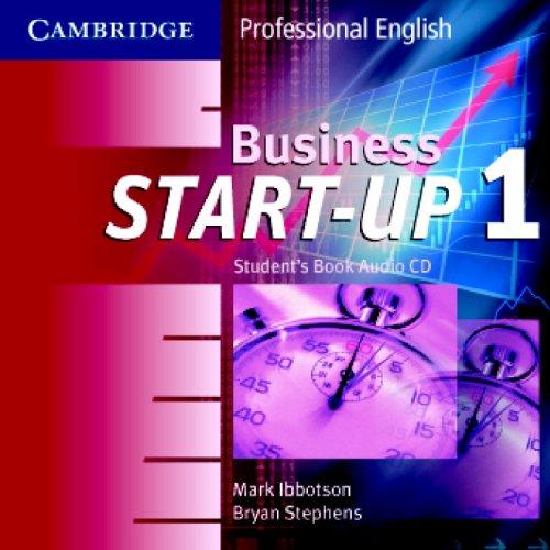 Business Start-Up 1 Audio CD Set (2 CDs) (Cambridge Professional English) by Cambridge University Press