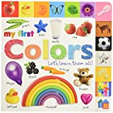 Best DK PUBLISHING Books For New Babies - Tabbed Board Books: My First Colors: Let's Learn Review