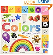 #9: Tabbed Board Books: My First Colors: Let's Learn Them All! (Tab Board Books)