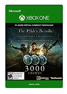 The Elder Scrolls Online Tamriel Unlimited Edition 3000 Crowns - Xbox One Digital Code (B00YZ9HHK8) | Amazon Products