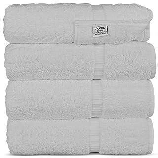 Chakir Turkish Linens Turkish Cotton Luxury Hotel & Spa Bath Towel, Bath Towel - Set of 4, White (B00IOWFCF4) | Amazon price tracker / tracking, Amazon price history charts, Amazon price watches, Amazon price drop alerts