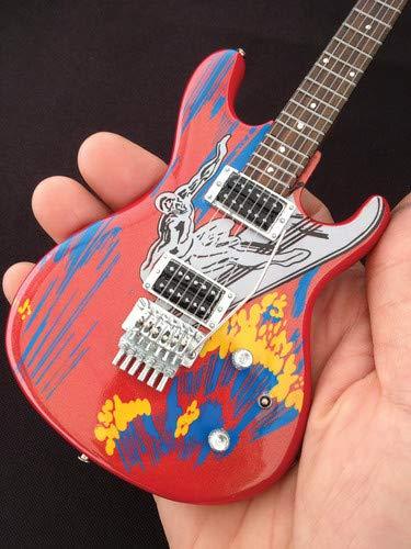 Axe Heaven Joe Satriani Silver Surfer Miniature Guitar Replica (JS-601)