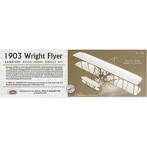 Flyer Laser airplane Model Kit 1:20 scale high quality tissue covering