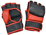 Ring to Cage No Logo MMA Leather Maximum Safety